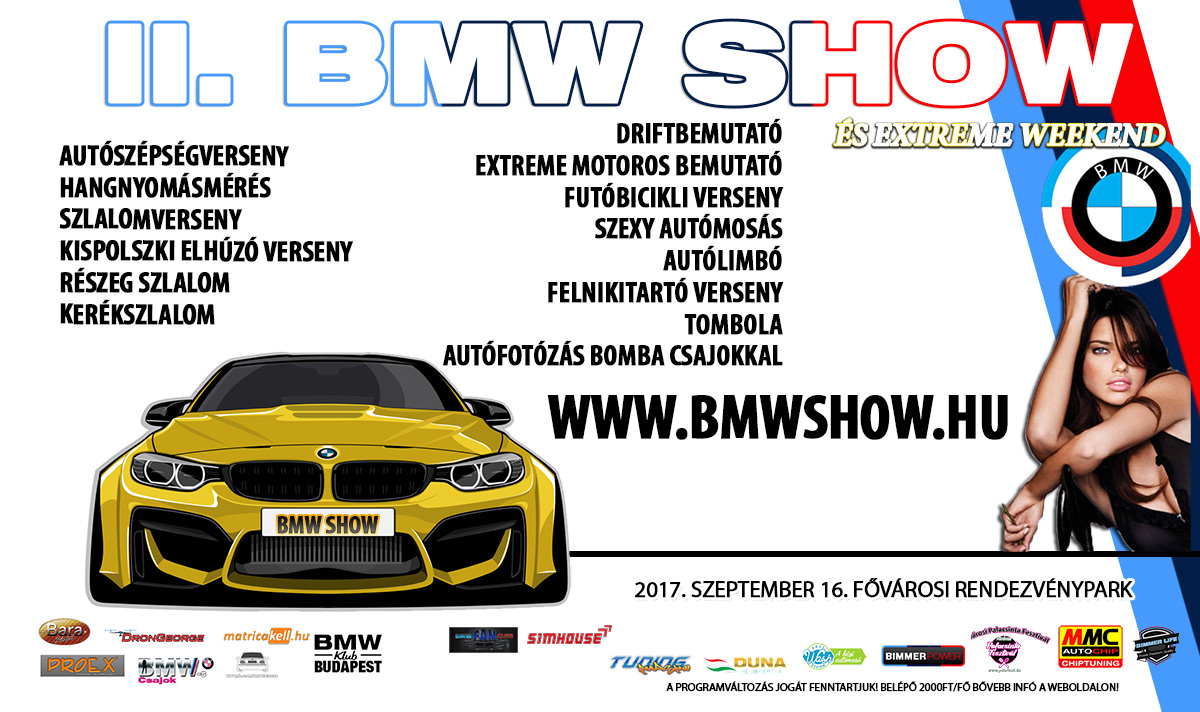 Részeg szlalom a II. BMW SHOW és Extreme Weekend-en