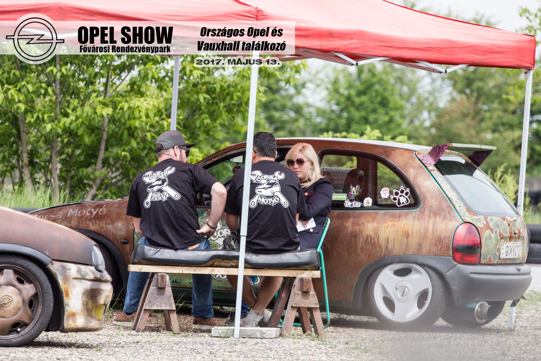 Egyedi autók az első Magyarországi Opel Show-n