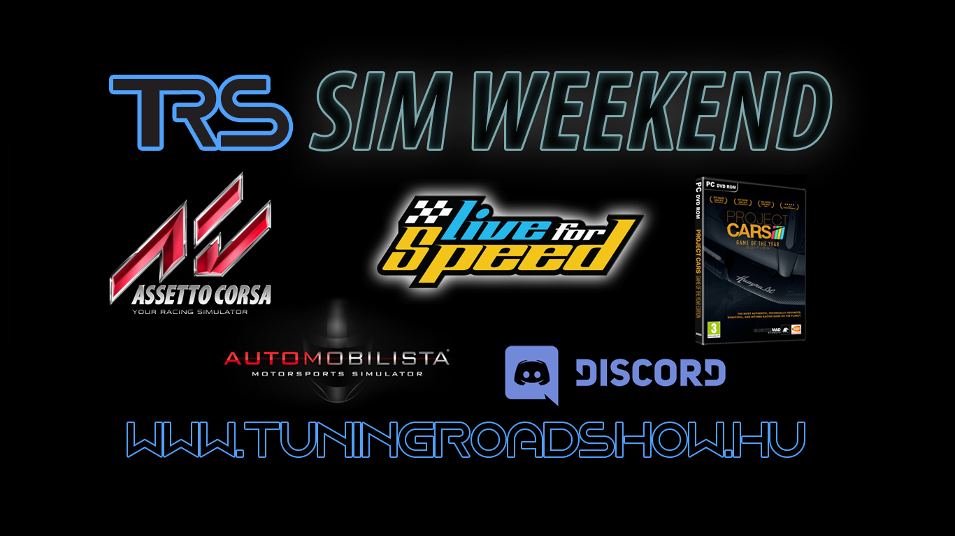 TRS SIM Weekend - Gyere Te is szimulátorozni