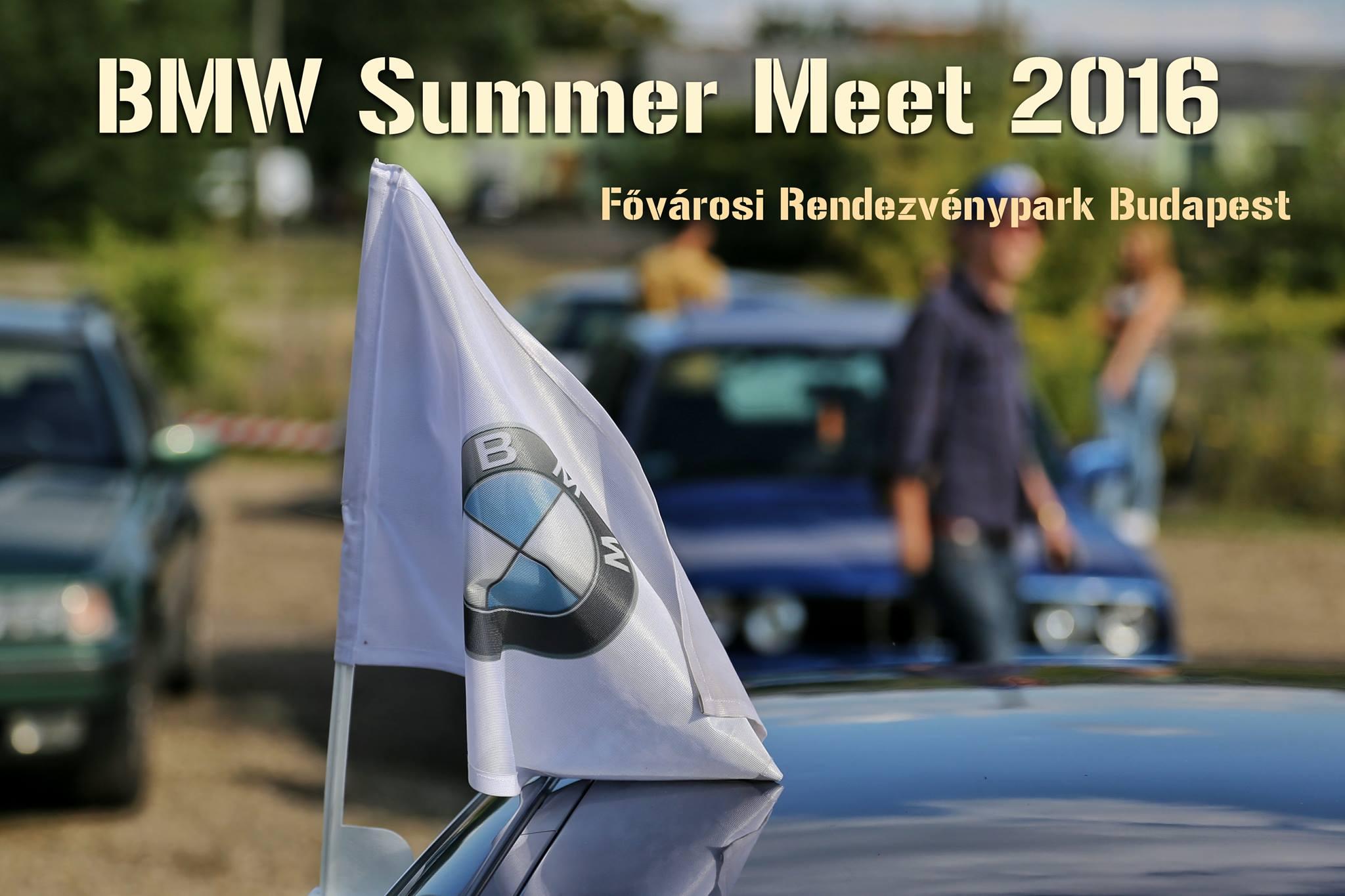 Az első BMW Summer Meet 2016-ban!