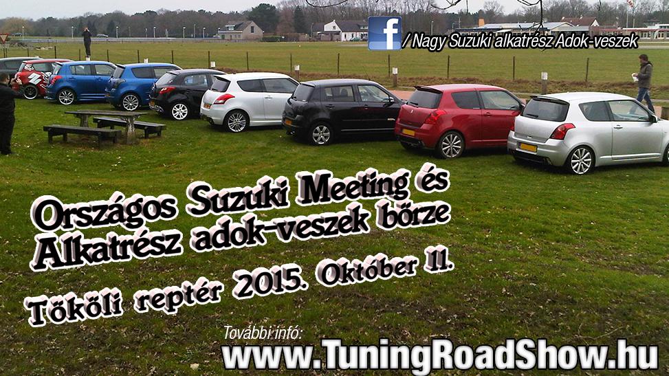 Az év utolsó SUZUKI találkozója a tököli TRS-en!