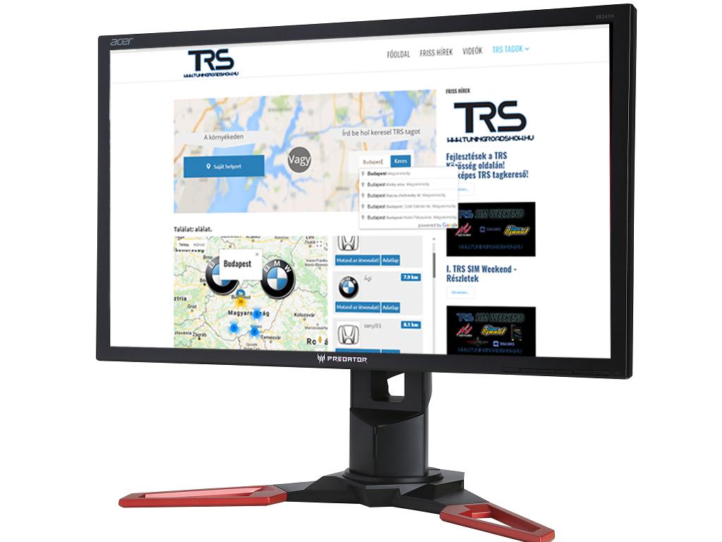 Fejlesztések a TRS Közösség oldalán! Térképes TRS tagkereső!